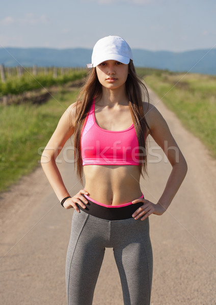 A great workout. Stock photo © lithian
