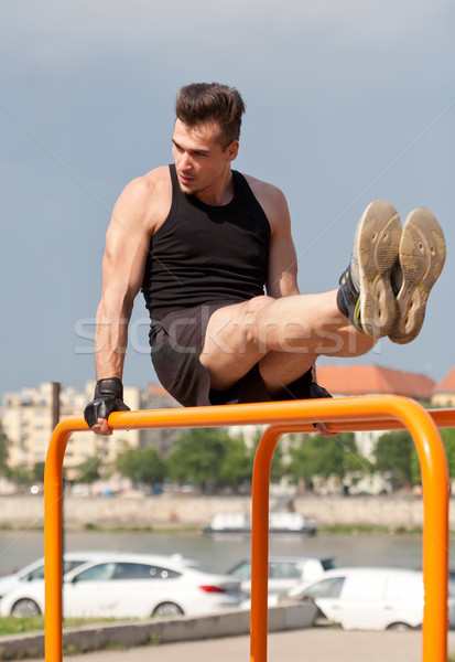 Great street workout. Stock photo © lithian