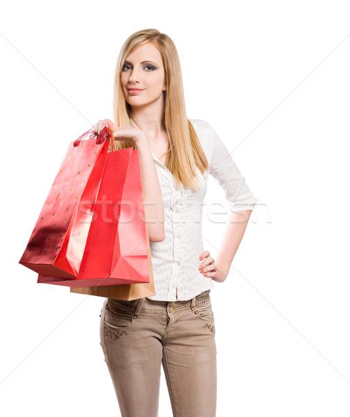 Gone shopping. Stock photo © lithian
