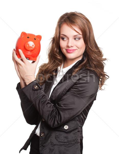 сохранить великолепный молодые брюнетка женщину Сток-фото © lithian