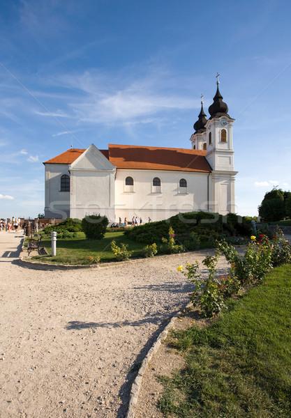 Tihany abbey Stock photo © lithian