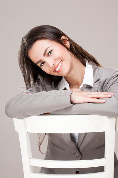 Happy and confident. Stock photo © lithian