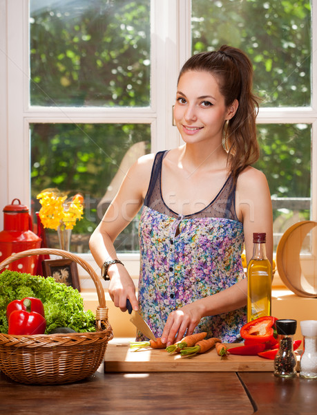 Let's cook! Stock photo © lithian