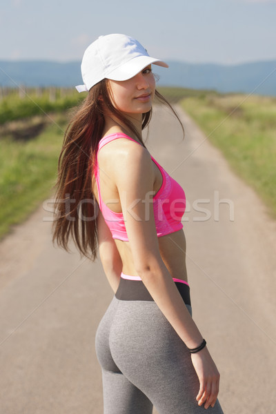 Fit and agile. Stock photo © lithian