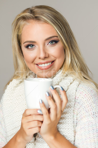 Warm refreshment for cold weather. Stock photo © lithian