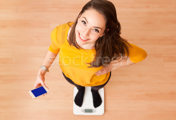Perfect weight. Stock photo © lithian