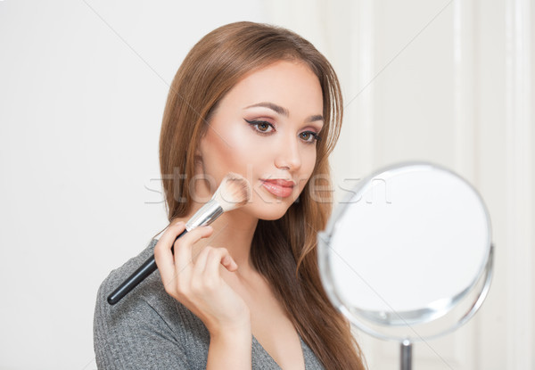 Stock photo: Amazing makeup beauty.