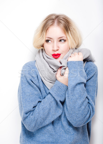 Stock photo: Winter chill.
