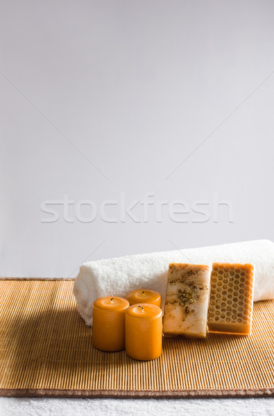 Bathing accessories. Stock photo © lithian