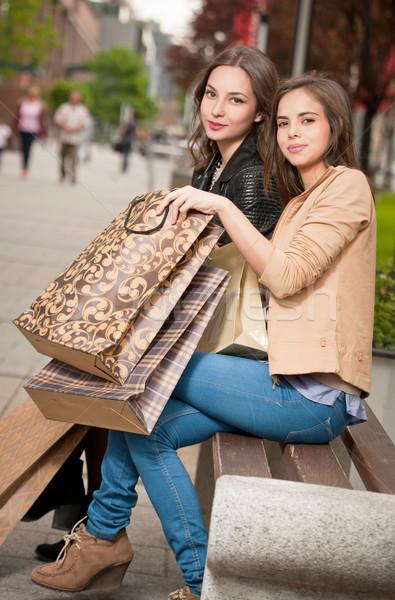 Let's go shopping! Stock photo © lithian