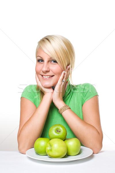 健康食 美しい 小さな ブロンド ジューシー ストックフォト © lithian