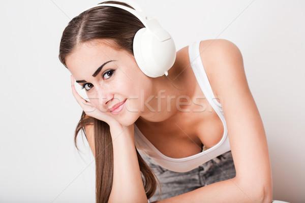 Music lover. Stock photo © lithian