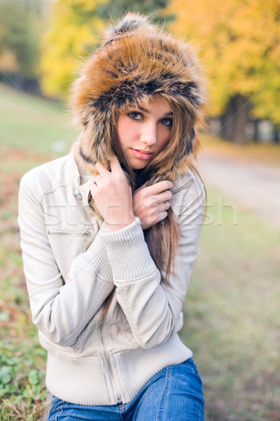 Chilly weather... Stock photo © lithian