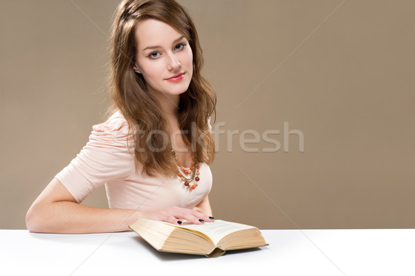 Nothing like a good book... Stock photo © lithian