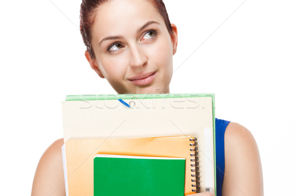 Attractive young student. Stock photo © lithian