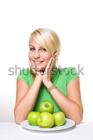 Stock photo: The big apple.