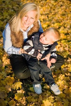 Having fun with mom. Stock photo © lithian