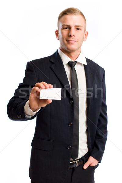 Let me introduce myself.. Stock photo © lithian