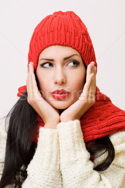 Winter cutie. Stock photo © lithian