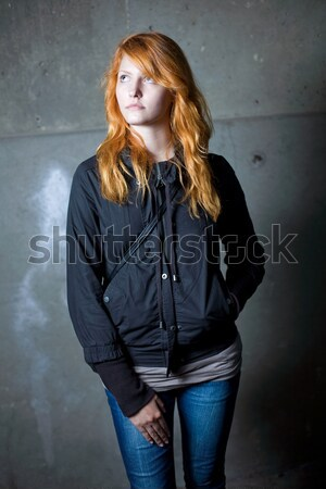 Solitude portrait belle jeunes Photo stock © lithian