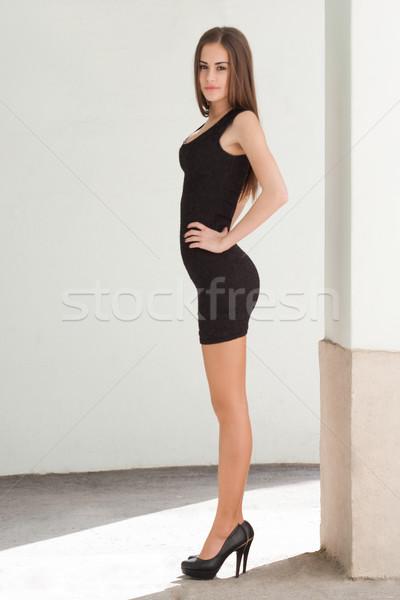 Slim beauty. Stock photo © lithian