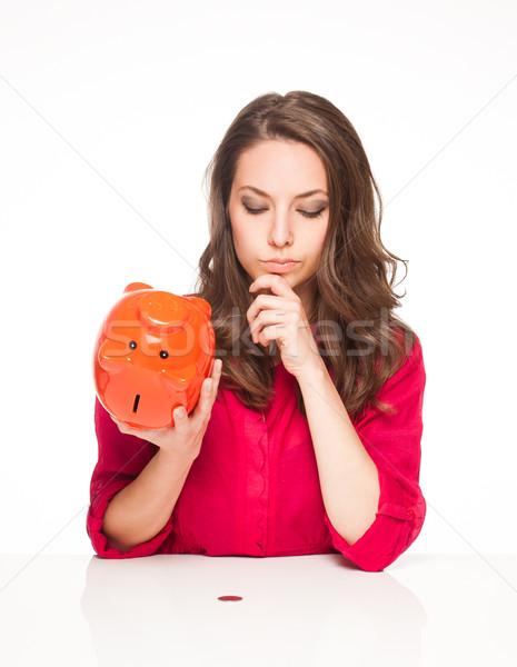 Savings gone. Stock photo © lithian
