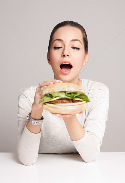 Diet choices concept. Stock photo © lithian