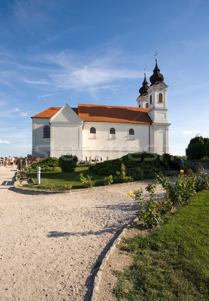 Tihany abbey Stock photo © lithian