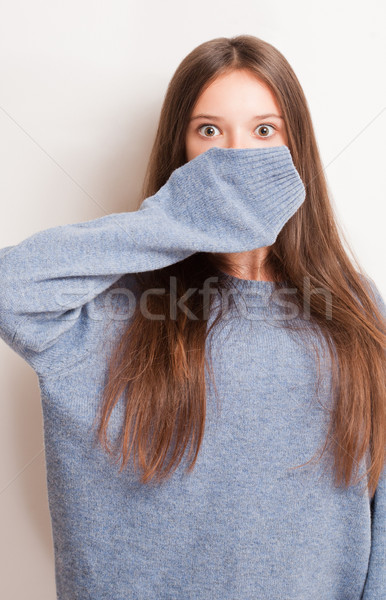 Get ready for the cold. Stock photo © lithian