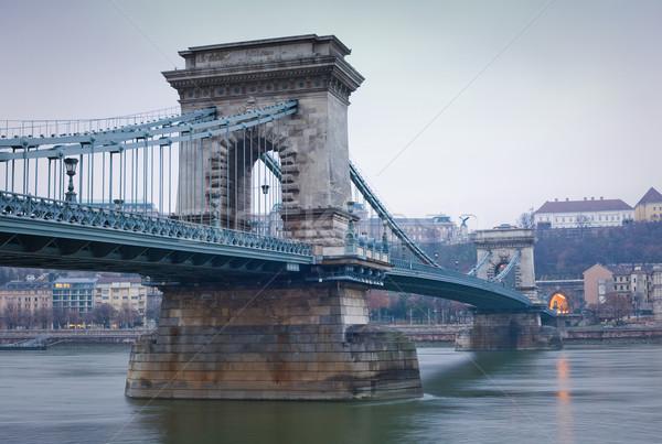 The Chain Bridge. Stock photo © lithian