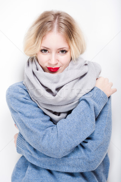 Winter chill. Stock photo © lithian