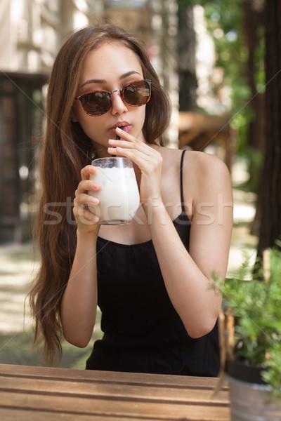Ice coffee refreshment. Stock photo © lithian
