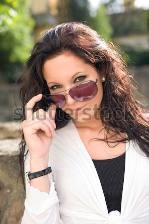 Hey there... Stock photo © lithian