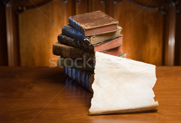 Ancient knowledge. Stock photo © lithian