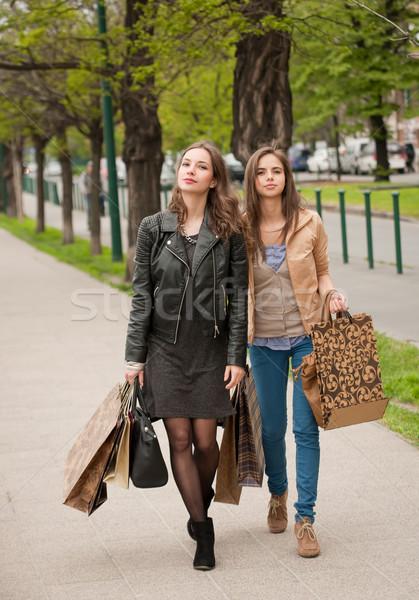 Shopping spree. Stock photo © lithian