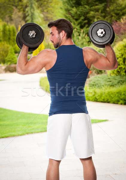 Get fit. Stock photo © lithian