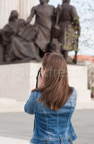 Taking memories. Stock photo © lithian