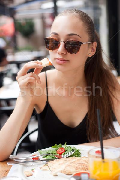 Food fun. Stock photo © lithian