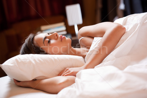 Deep sleep. Stock photo © lithian