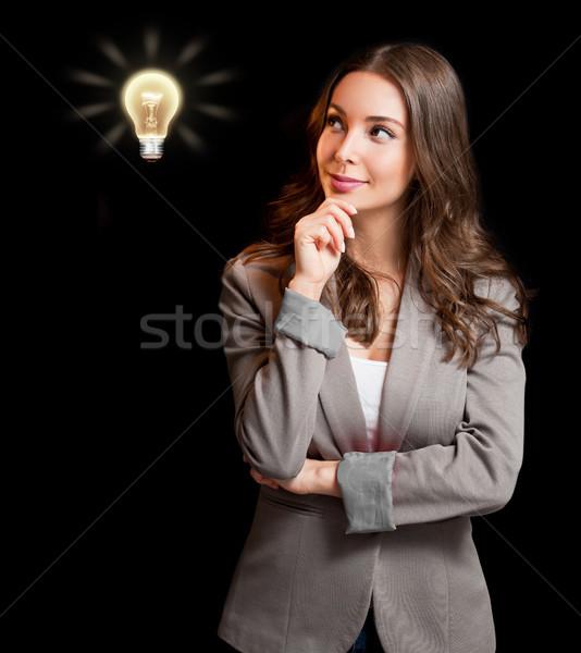 Creative ideas concept. Stock photo © lithian