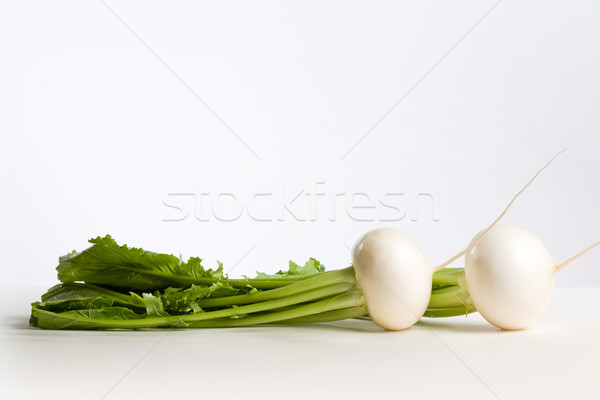 Appetizing white raddish. Stock photo © lithian