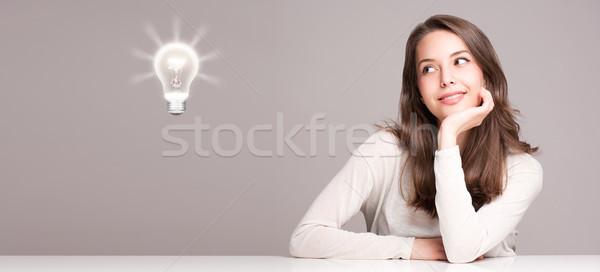 若い女性 シンボル 肖像 ゴージャス 小さな ストックフォト © lithian