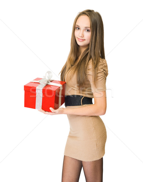 Accept my gift to you. Stock photo © lithian
