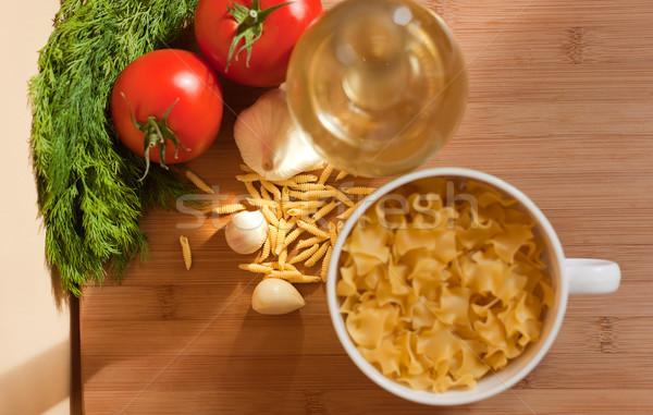 Healthy ingredients. Stock photo © lithian
