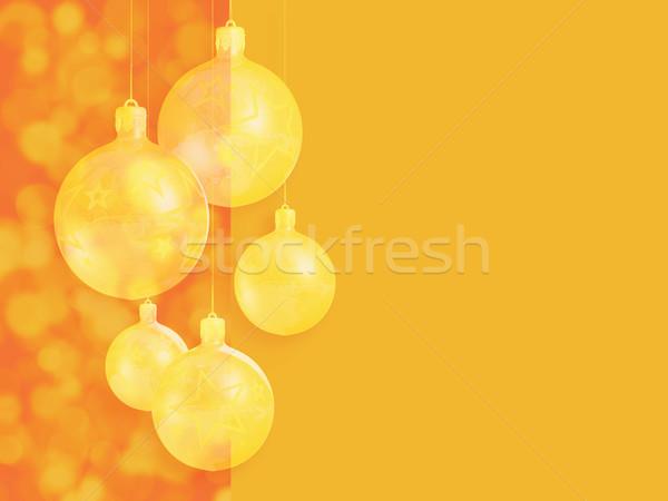 Retro christmas kartkę z życzeniami stylizowany kopia przestrzeń Zdjęcia stock © lithian