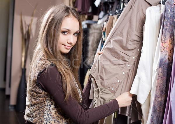 Shop untill you drop. Stock photo © lithian