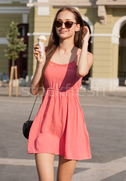 Ice cream refreshment. Stock photo © lithian