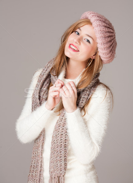 Warm and cozy clothes. Stock photo © lithian