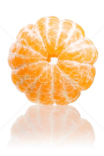Sweet fresh mandarins. Stock photo © lithian