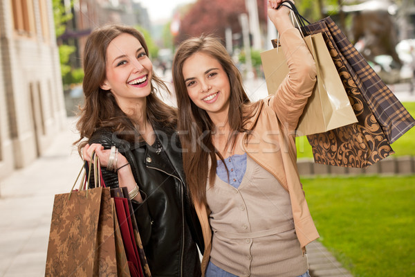 Shopping spree. Stock photo © lithian